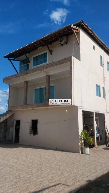 terreno à venda, 2780 m² por r$ 990.000,00 - centro - candeias/ba - te0072