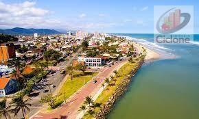 terreno à venda, 280 m² por r$ 8.000 - cidade jardim coronel - itanhaém/sp - te0163