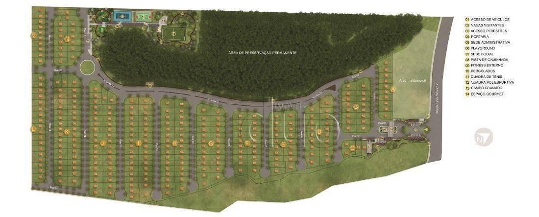 terreno à venda, 286 m² por r$ 132.800,00 - bongue - piracicaba/sp - te1560