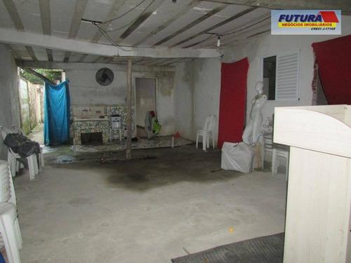 terreno à venda, 298 m² por r$ 425.000 - pq. bitaru - são vicente/sp te0036 - bom para construtor. (13) 3467-1884 - te0036