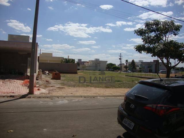 terreno à venda, 300 m² por r$ 150.000 - condomínio campos do conde ii - paulínia/sp - te3900