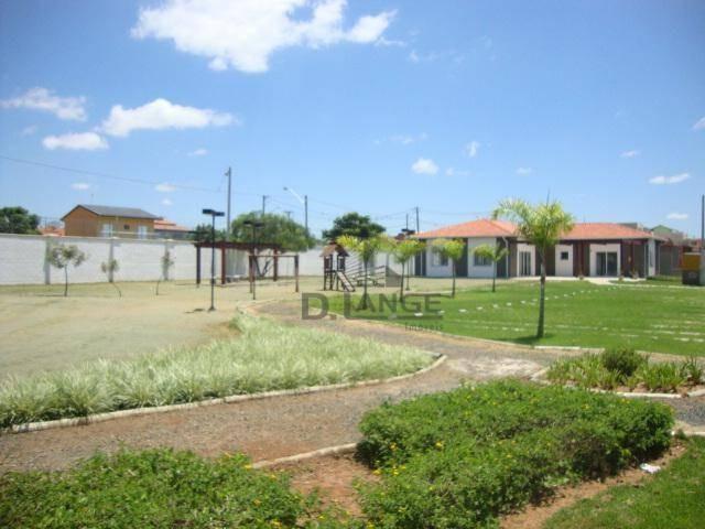 terreno à venda, 300 m² por r$ 155.000,00 - condomínio campos do conde ii - paulínia/sp - te4311