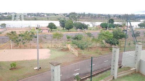 terreno à venda, 300 m² por r$ 180.000,00 - condomínio jatobá - presidente prudente/sp - te0376