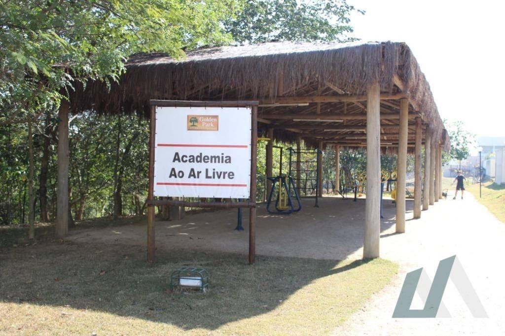 terreno à venda, 300 m² por r$ 212.000,00 - condomínio golden park alfa - sorocaba/sp - te0875