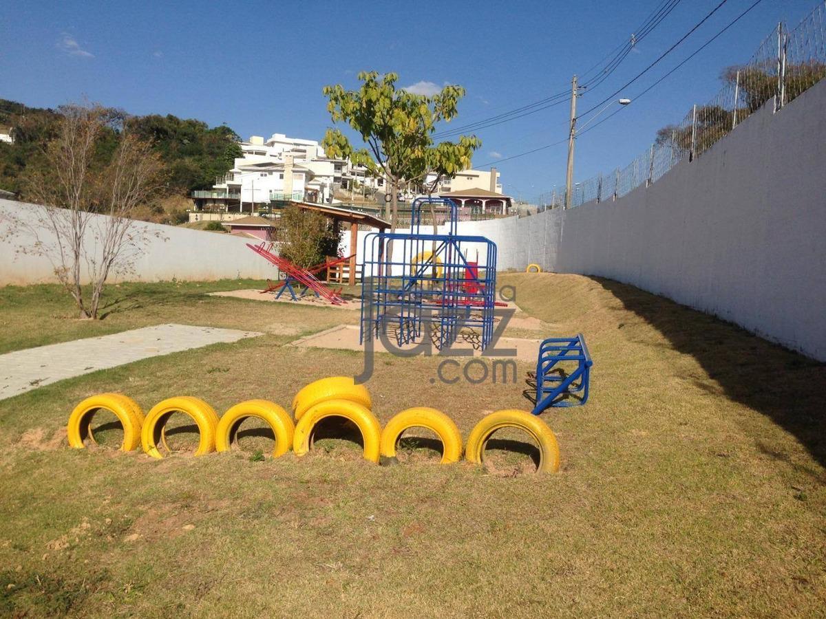 terreno à venda, 300 m² por r$ 280.000 - condomínio residencial portal do jequitiba - valinhos/sp - te0935