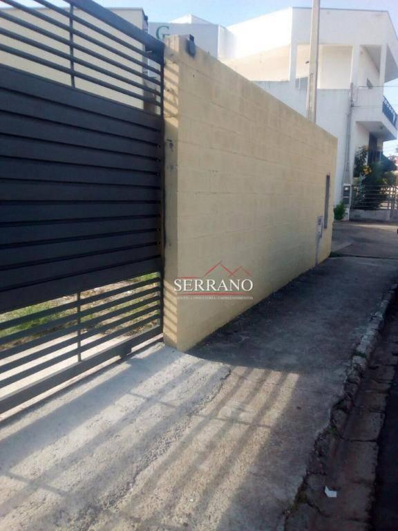 terreno à venda, 300 m² por r$ 500.000,00 - jardim trevisan - vinhedo/sp - te0346