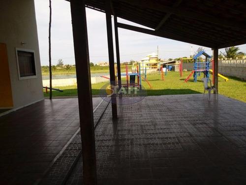 terreno à venda, 300 m² por r$ 55.000,00 - unamar - cabo frio/rj - te0161