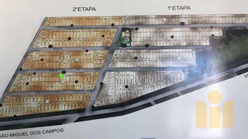 terreno à venda, 300 m² por r$ 80.000 - barra mar - barra de são miguel/al - te0034