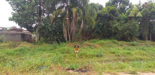 terreno à venda, 300 m² por r$  - itajuba - barra velha/sc - te0159