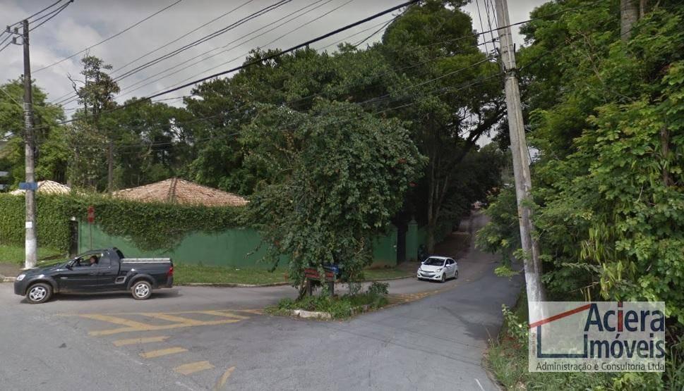 terreno à venda, 3000 m² - paisagem renoir - cotia/sp - te1401