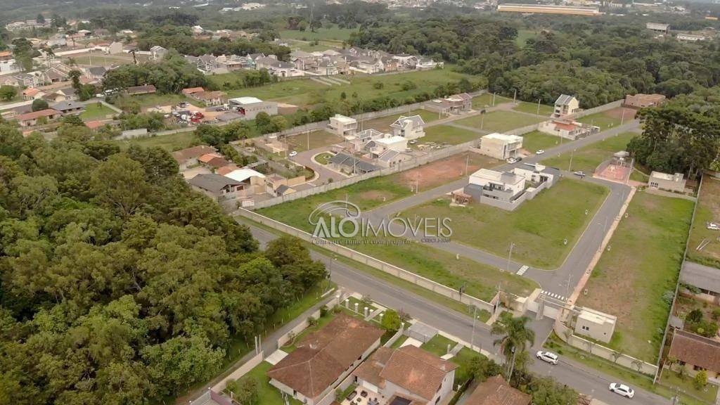 terreno à venda, 307 m² por r$ 276.615,00 - umbará - curitiba/pr - te0114