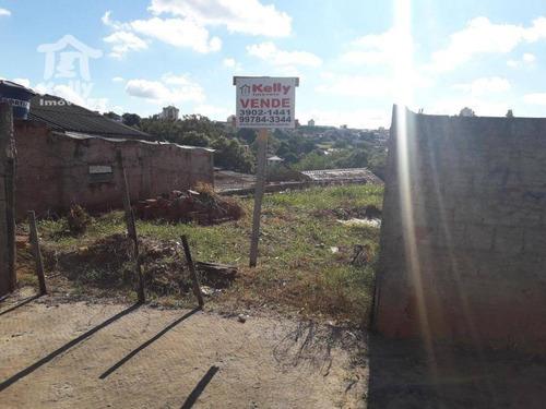 terreno à venda, 310,50 m² por r$ 85.000 - jardim itatiaia - presidente prudente/sp - te0296