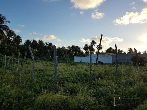 terreno à venda, 312 m² por r$ 58.000 - mosqueiro - aracaju/se - te0041