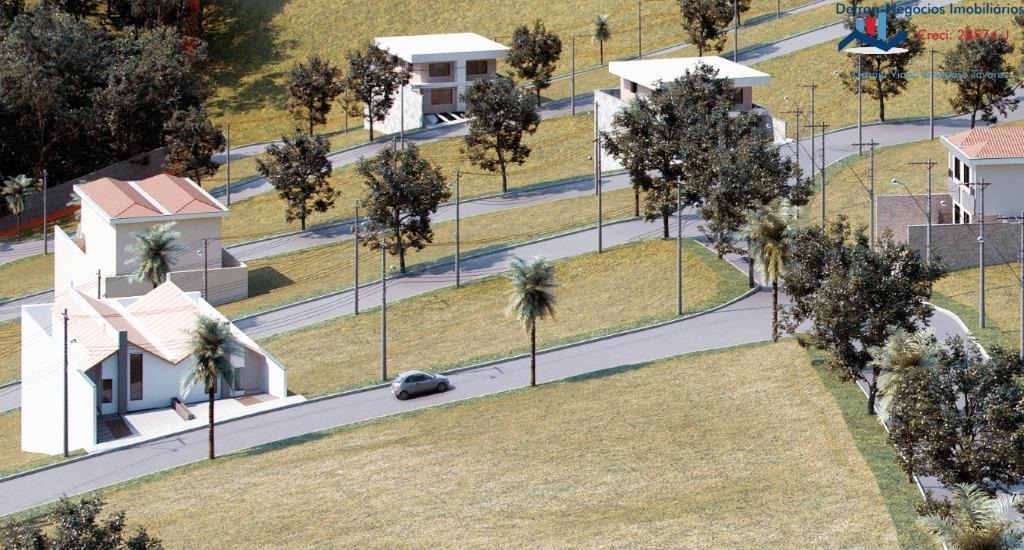 terreno à venda, 321 m² por r$ 140.000 - centro - cotia/sp - te0177