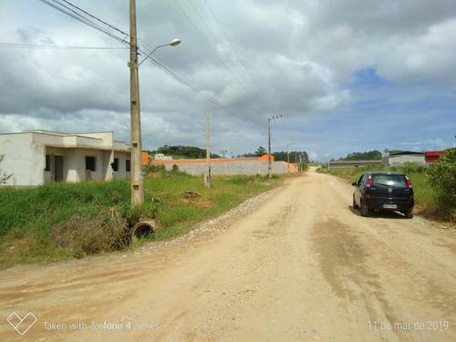 terreno à venda, 325 m² por r$ 65.000 - itajuba - barra velha/sc - te0114
