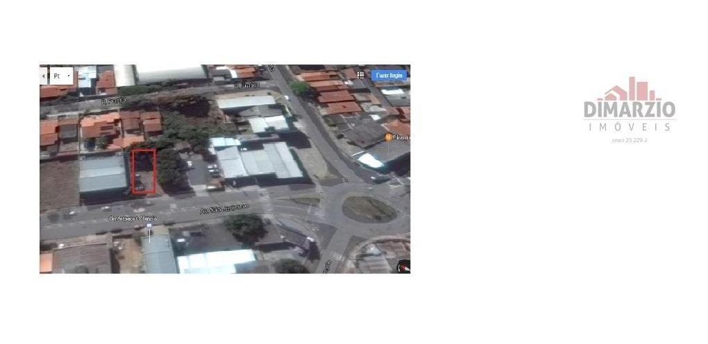 terreno à venda, 330 m² por r$ 350.000,00 - vila santa maria - americana/sp - te0338