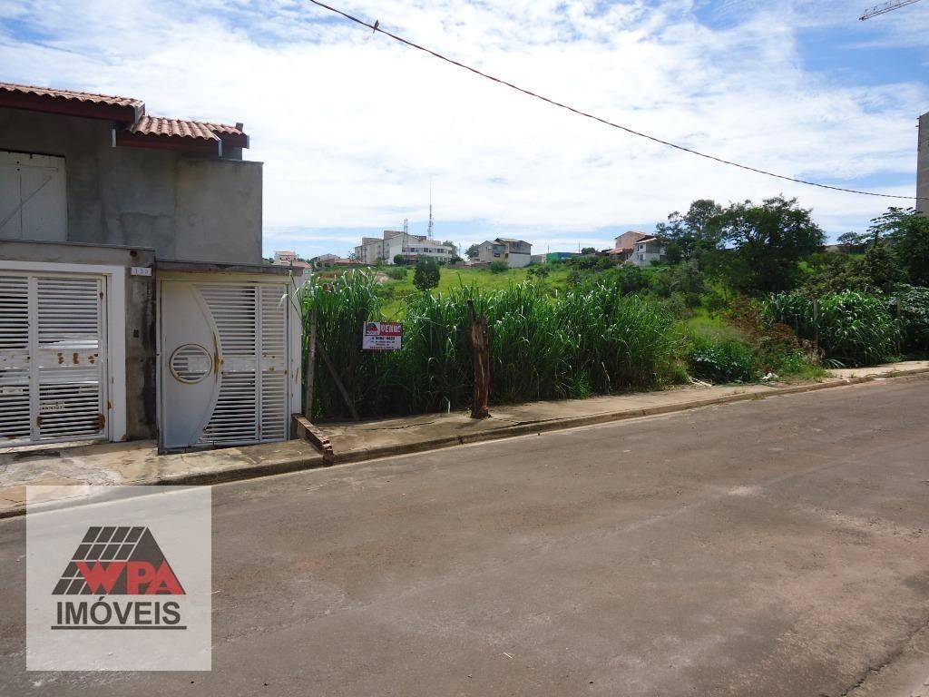 terreno à venda, 331 m² por r$ 200.000,00 - jardim são domingos - americana/sp - te0560