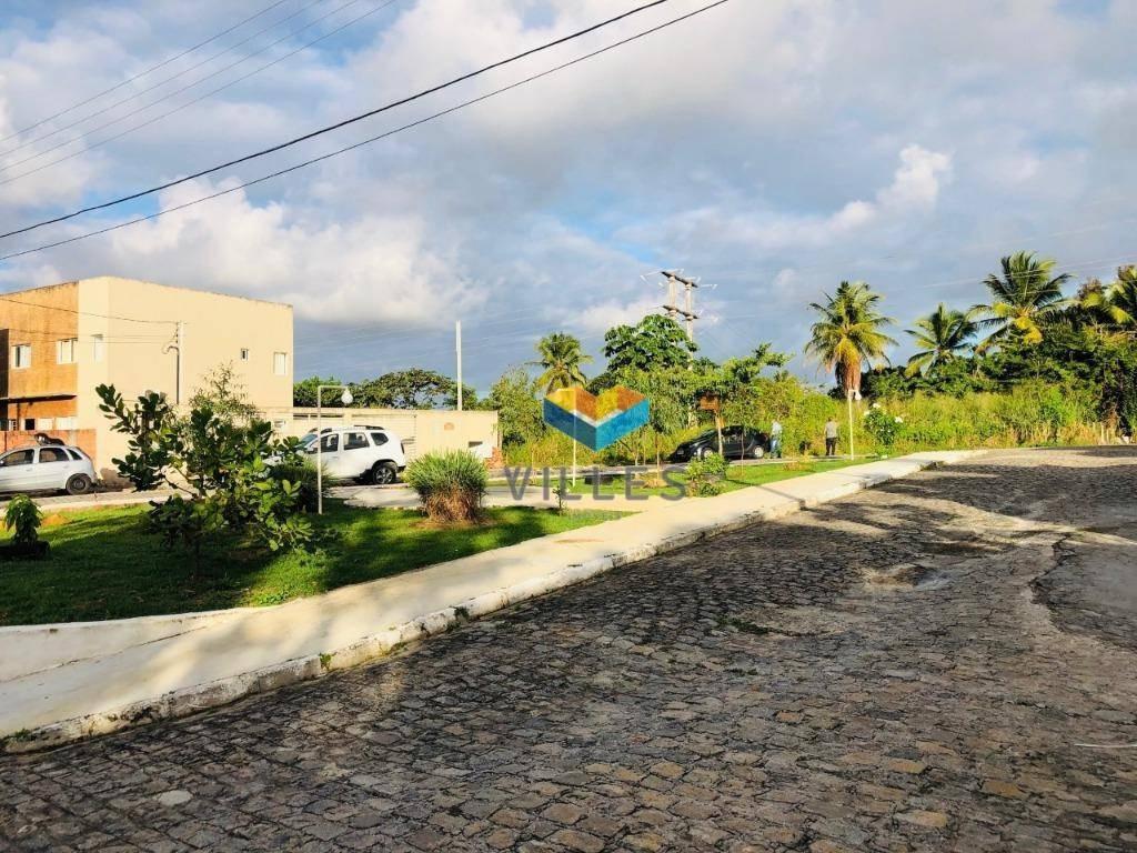 terreno à venda, 333 m² por r$ 110.000 em rua fechada - antares - maceió/al - te0008