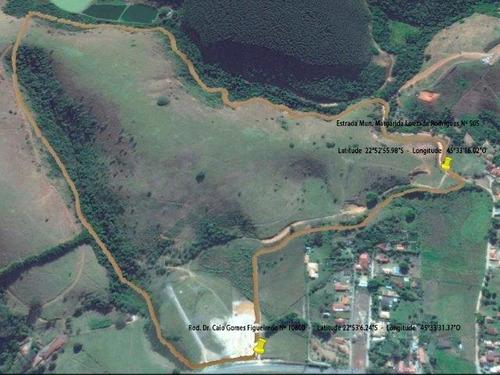 terreno à venda, 340000 m² por r$ 2.500.000,00 - ribeirão grande - pindamonhangaba/sp - te0960