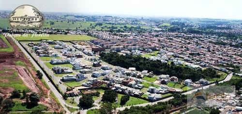 terreno à venda, 350 m² - jardim residencial parque da floresta - sumaré/sp - te0546