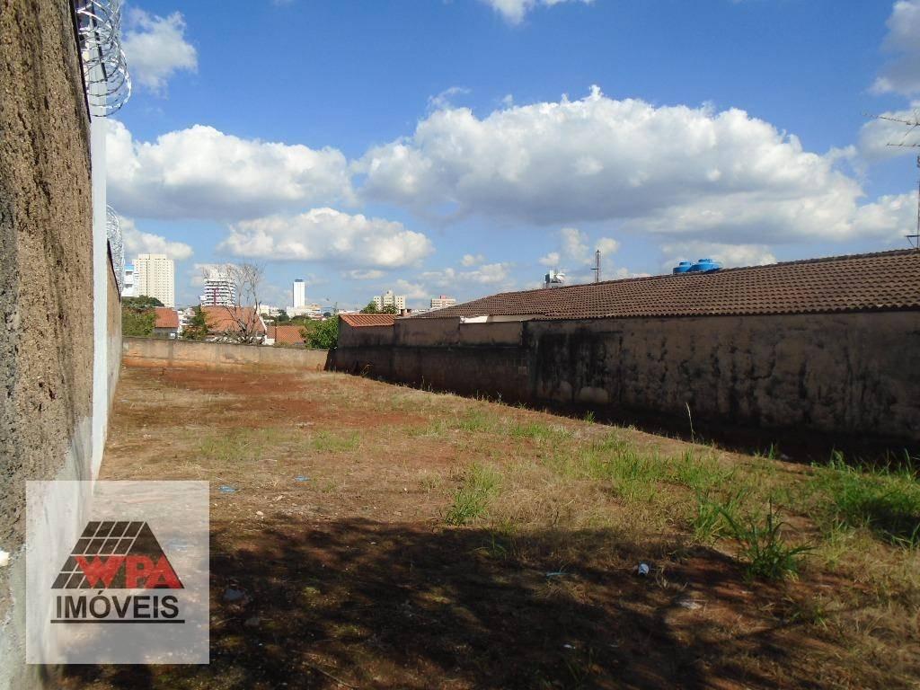 terreno à venda, 350 m² por r$ 280.000,00 - jardim são domingos - americana/sp - te0467