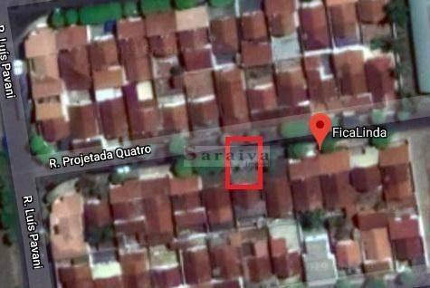 terreno à venda, 356 m² por r$ 180.000 - te0062
