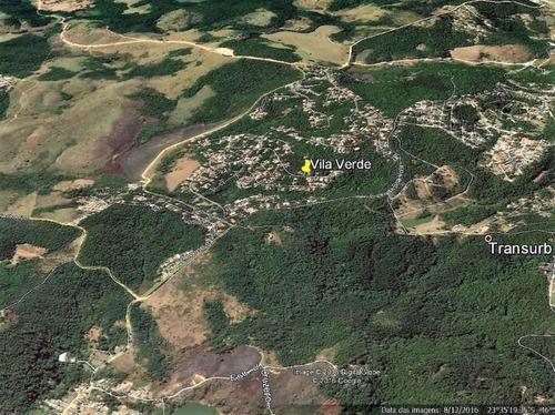 terreno à venda, 360 m² por r$ 150.000 - vila verde - itapevi/sp - te0476
