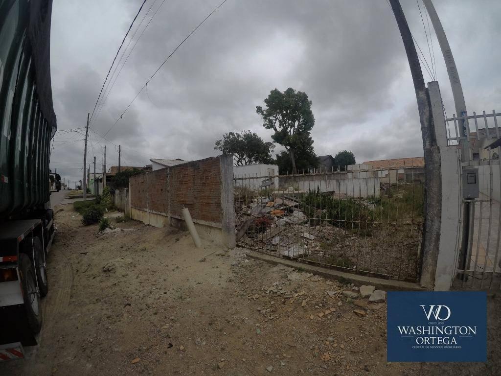 terreno à venda, 360 m² por r$ 167.000,00 - planta quississana - são josé dos pinhais/pr - te0090