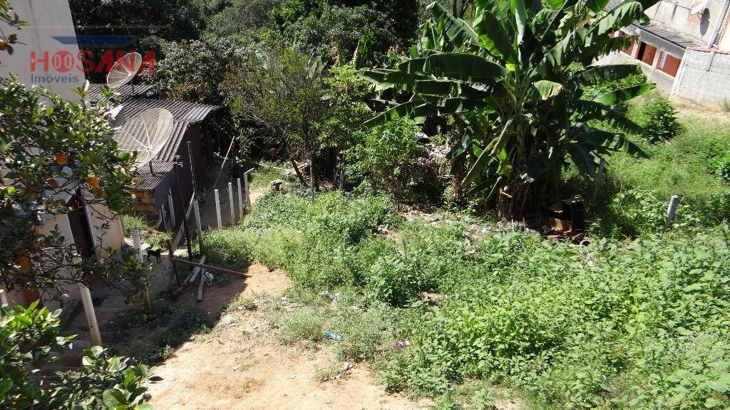 terreno à venda, 360 m² por r$ 95.000 - estância lago azul - franco da rocha/sp - te0283