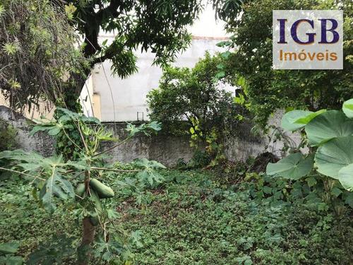 terreno à venda, 375 m² por r$ 2.100 - lauzane paulista - são paulo/sp - te0090