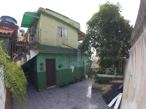 terreno à venda, 375 m² por r$ 470.000 - jardim mauá - mauá/sp - te0042