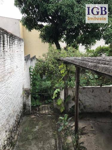 terreno à venda, 375 m² por r$ 779.000,00 - lauzane paulista - são paulo/sp - te0090