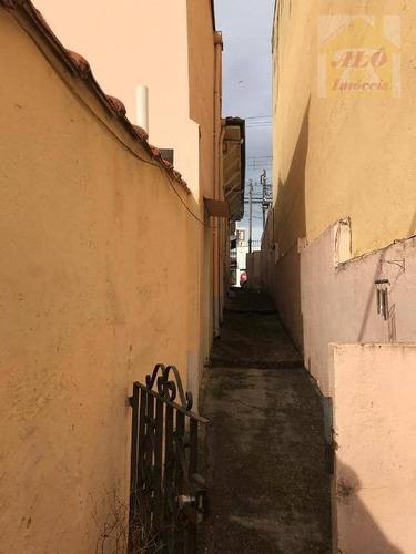 terreno à venda, 375 m² por r$ 798.200 - lauzane paulista - são paulo/sp - te0064