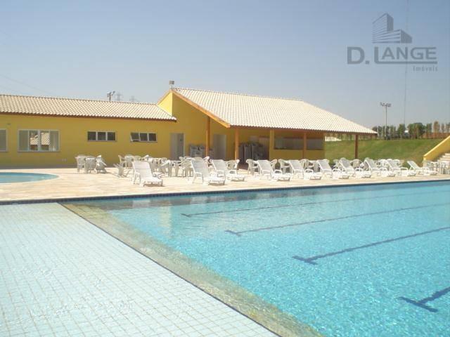 terreno à venda, 390 m² por r$ 350.000 - condomínio terras do cancioneiro - paulínia/sp - te1411