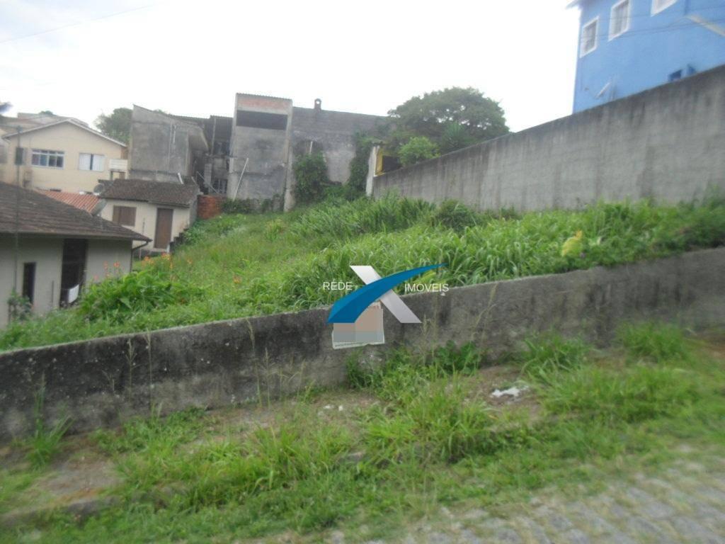terreno à venda, 400 m² por r$ 250.000,00 - centro alto - ribeirão pires/sp - te0115
