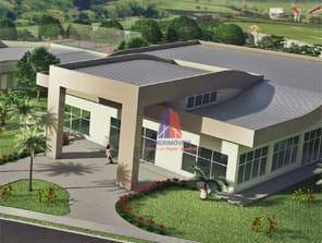 terreno à venda, 413 m² por r$ 350.000,00 - condomínio pau brasil - parque nova carioba - americana/sp - te0161