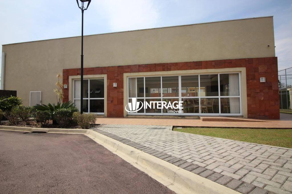terreno à venda, 413 m² por r$ 400.000 - santa felicidade - curitiba/pr - te0255