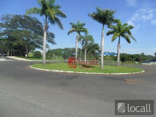 terreno à venda, 420 m² por r$ 220.000 - condominio golden park residence - mirassol/sp - te0494
