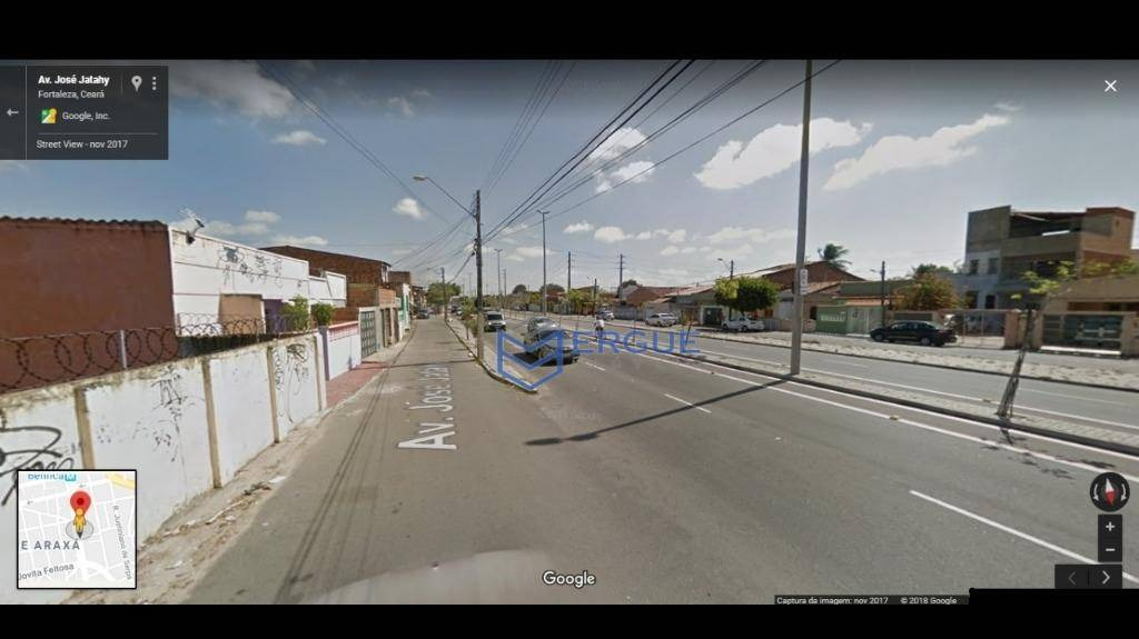 terreno à venda, 423 m² por r$ 400.000,00 - benfica - fortaleza/ce - te0081