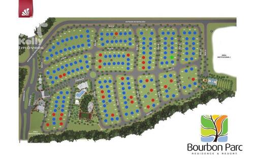 terreno à venda, 424 m² por r$ 309.084,87 - bourbon parc - presidente prudente/sp - te0323