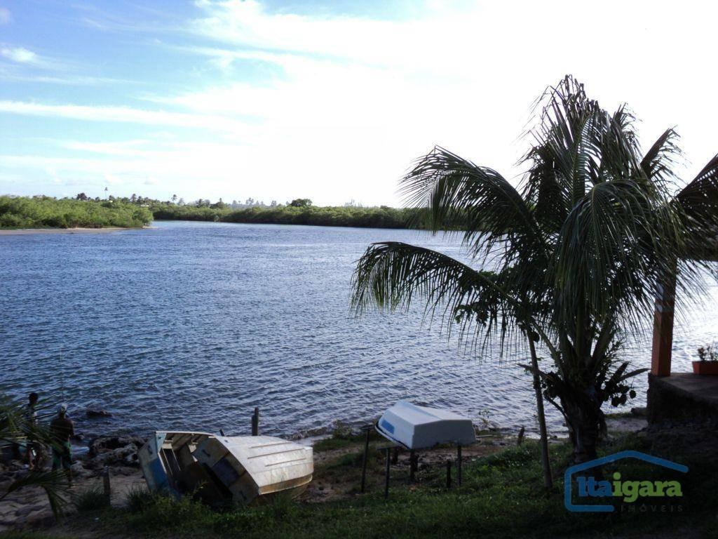 terreno à venda, 4300 m² por r$ 200.000 - jacuipe - camaçari/ba - te0005