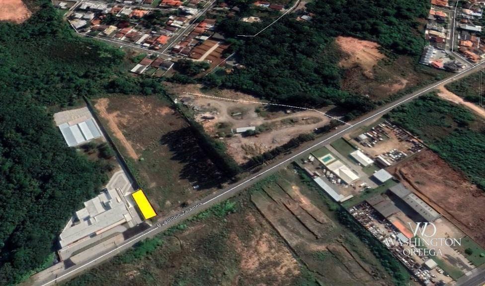 terreno à venda, 432 m² por r$ 295.000,00 - aristocrata - são josé dos pinhais/pr - te0216
