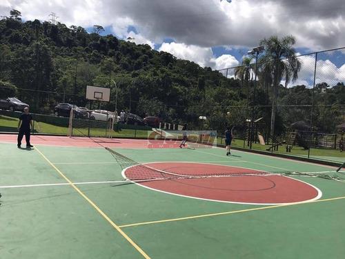 terreno à venda, 450 m² por r$ 170.000,00 - condomínio hills iii - arujá/sp - te0445