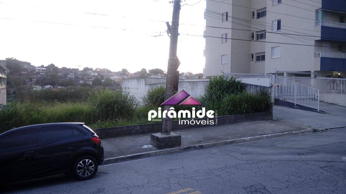 terreno à venda, 450 m² por r$ 600.000,00 - jardim satélite - são josé dos campos/sp - te0925