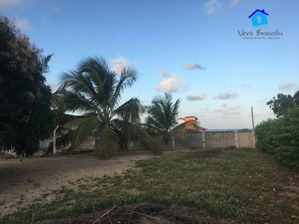 terreno à venda, 450 m² por r$ 72.500,00 - tabatinga - conde/pb - te0700