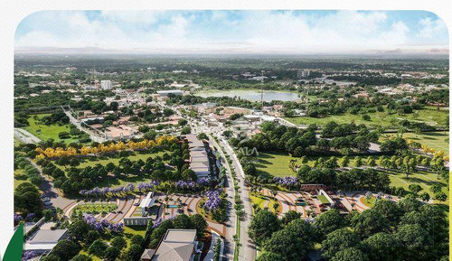 terreno à venda, 450 m², vert natureza, melhor localização, alto padrão, financia - centro - eusébio/ce - te0286