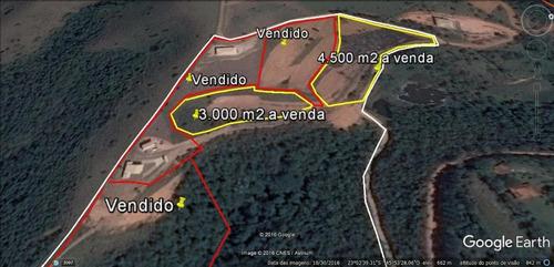 terreno à venda, 4500 m² por r$ 170.000 - rio do braço - são josé dos campos/sp - te0225