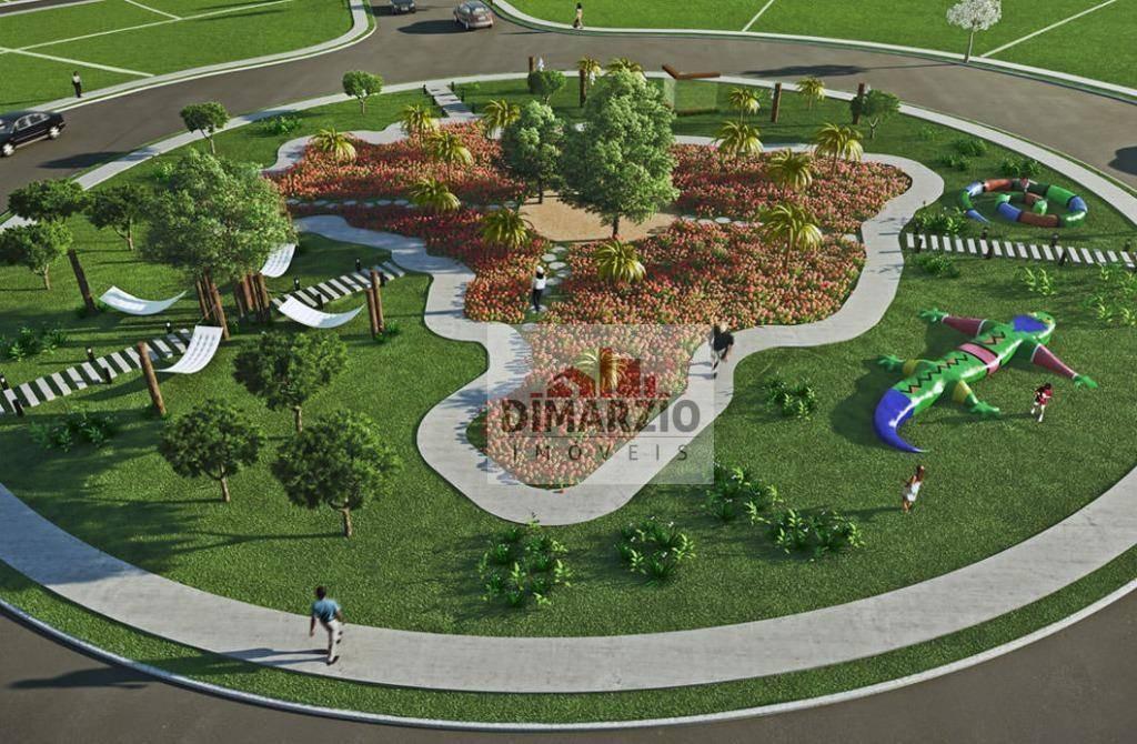 terreno à venda, 451 m² por r$ 360.000,00 - parque nova carioba - americana/sp - te0363