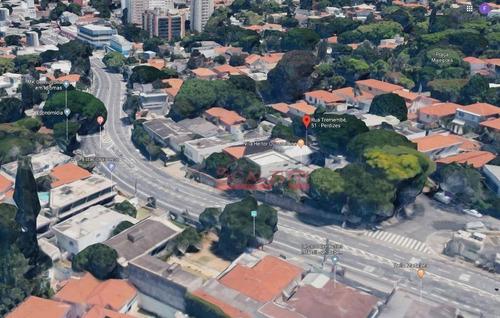 terreno à venda, 452 m² por r$ 3.000.000 - vila madalena - são paulo/sp - te0036
