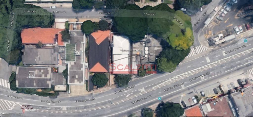 terreno à venda, 452 m² por r$ 3.000.000,00 - perdizes - são paulo/sp - te0036